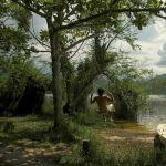Lagoa do Peri - Situada entre uma cadeia de...