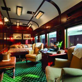 África do Sul tem o trem mais luxuoso do mundo. Confira!