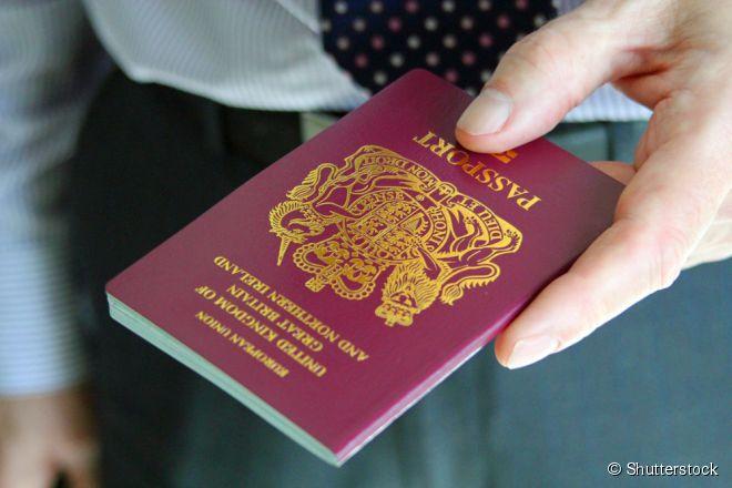 O passaporte britânico garante entrada sem visto em 174 países do planeta