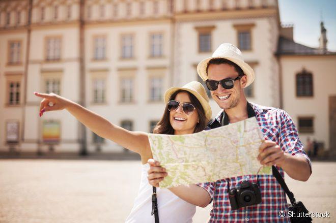 Antes de uma viagem internacional, é bom se planejar e montar o roteiro com antecedência