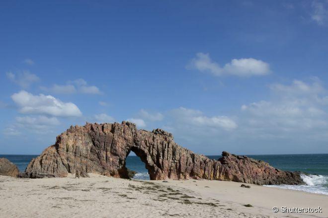 Pedra Furada: um dos principais símbolos naturais de 'Jeri'