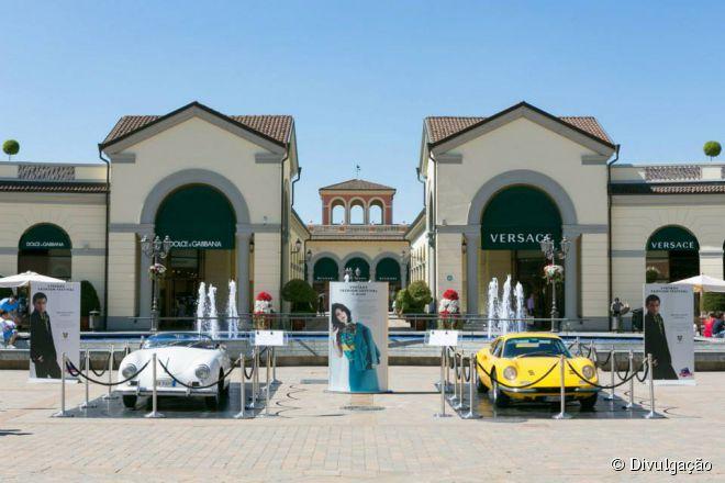 O McArthurGlen Serravalle fica a apenas 50 minutos da cidade italiana de Milão