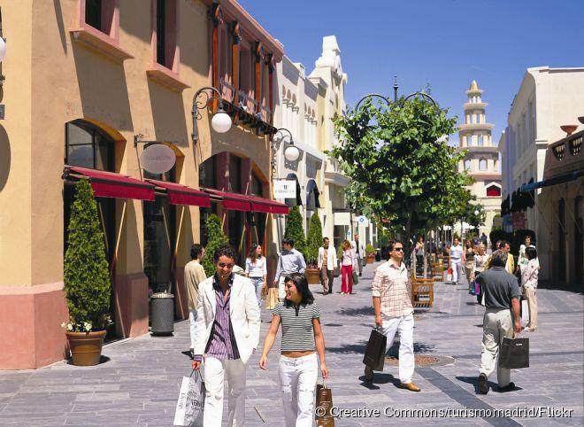 O Las Rozas Village, em Madri, é um dos centros de outlets imperdíveis na Europa