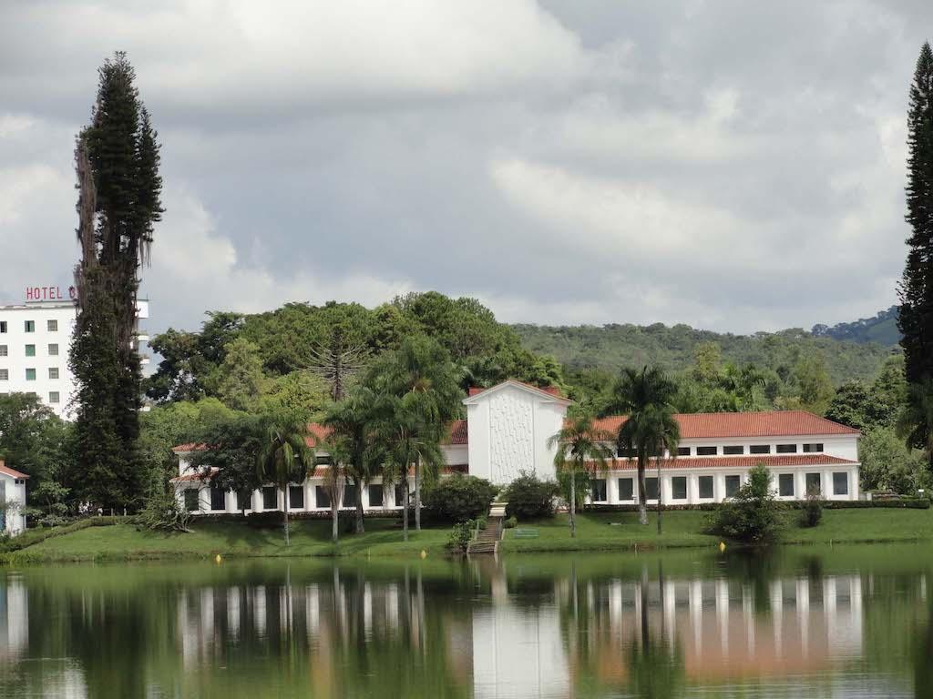 Parque das Águas em São Lourenço é o principal cartão-postal da cidade