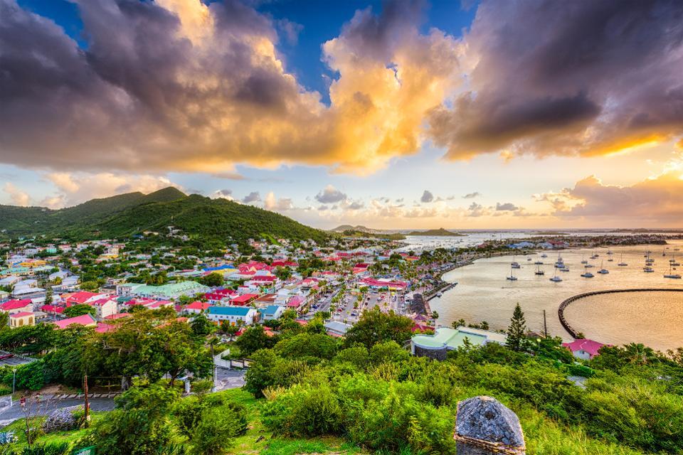 Países do Caribe: St. Marteen