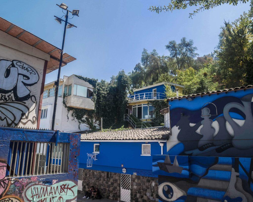 O que fazer em Santiago: La Chascona