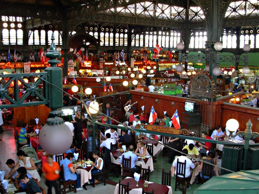 Passeio em Santiago: Mercado Central