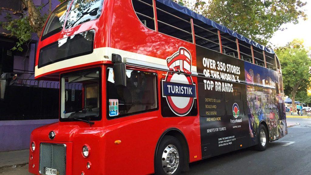 Ônibus da Turistik - Santiago