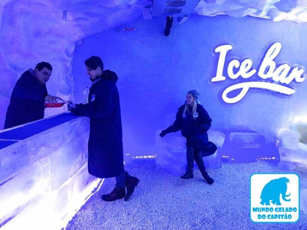 Ice Bar - Mundo Gelado do Capitão