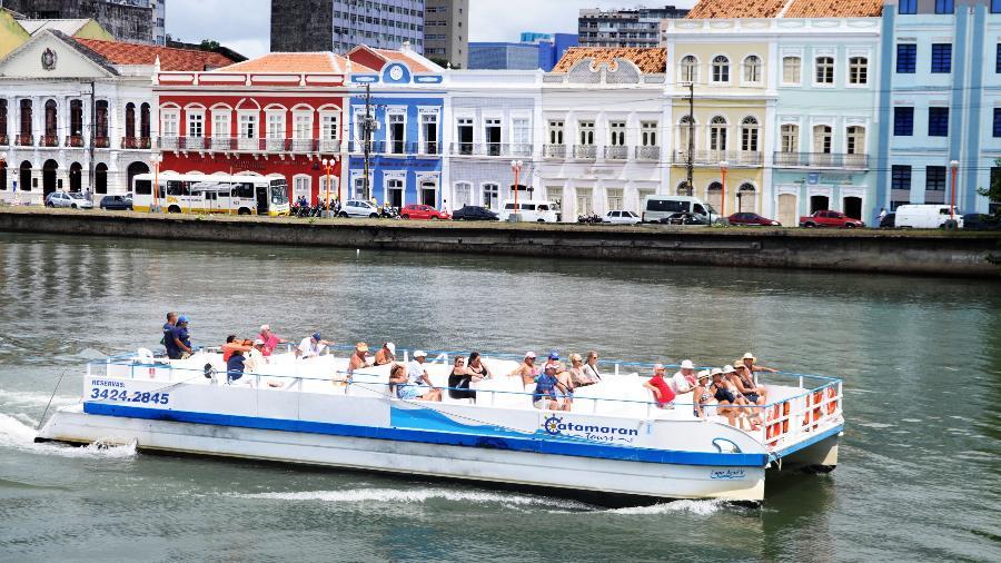 Passeio em Recife: Rio Capibaribe