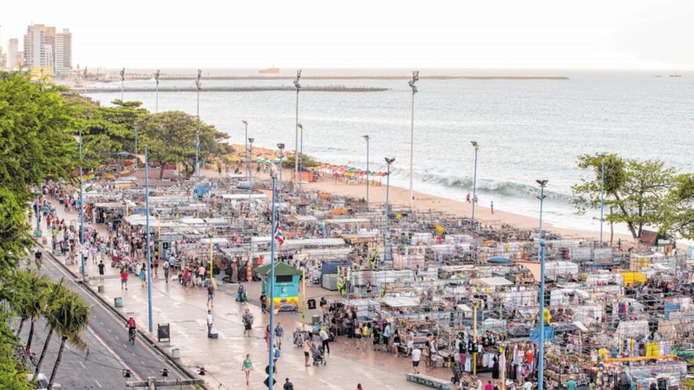 O que fazer em Fortaleza: Avenida Beira-Mar