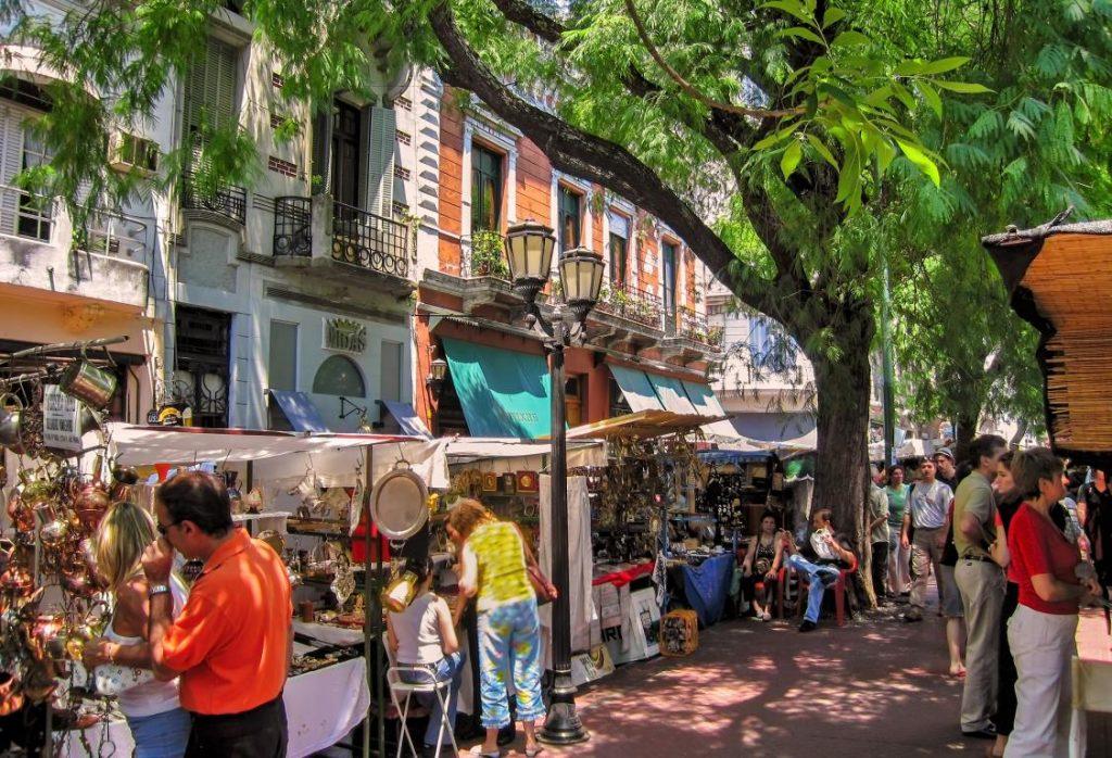 Passeio em Buenos Aires: Feira de San Telmo