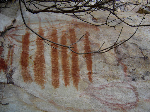 Pintura rupestre tiradentes