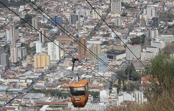 Teleférico na Serra de São Domingos