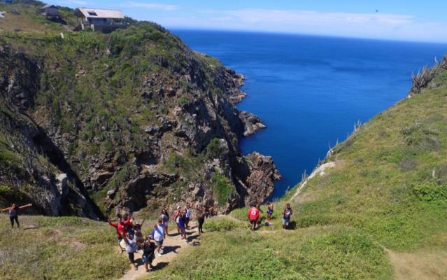 Trilhas em Arraial do Cabo